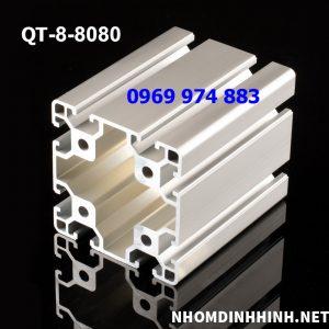 nhôm định hình 80x80
